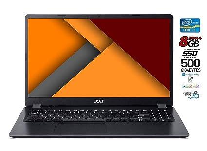 Portátil Acer Intel Core i3 de 7 hasta 2,3 GHz, SSD M2 de 500 GB,