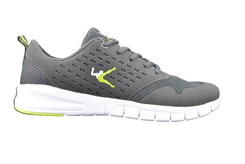 newest 6b996 b5fc4 LEGEA Noel Sneakers Grigio Scarpe da Ginnastica Uomo Running Athletics   Amazon.it  Scarpe e borse