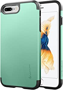 Luvvitt Ultra Armor iPhone 7 Plus/iPhone 8 Plus Case with Dual Layer Heavy Duty Protection and Air Bounce Technology for Apple iPhone 7 Plus (2016) / iPhone 8 Plus (2017) - Teal