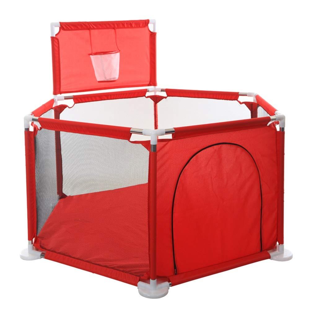 大人気 バスケットと200ボールのシュート、室内遊び場の安全防護柵 B07QMP92XC - 赤とベビープレイタイプ - B07QMP92XC, 【年中無休】:b45f7eba --- a0267596.xsph.ru