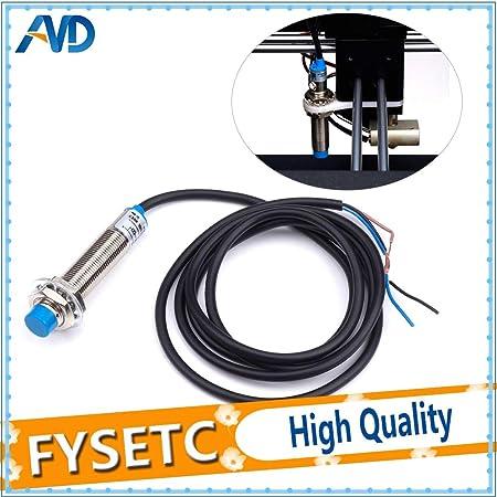 Inductive Proximity Sensor Detection Switch NPN DC6-36V LJ12A3-4-Z//BX 3D Printer