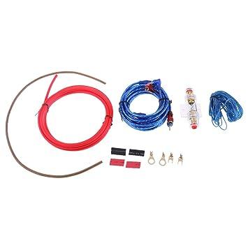 MagiDeal Equipos Baratos De Los Alambres Del Amplificador Del Audio Para El Automóvil 10GA Para El