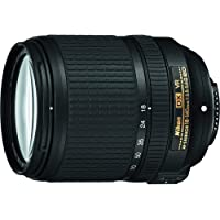 Nikon AF-S DX NIKKOR 18-140mm f/3.5-5.6G ED Vibration Reduction Zoom Lens with Auto Focus for Nikon DSLR Cameras…