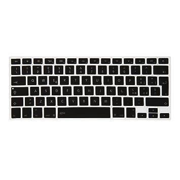 Aiino AIMBKYPR-BK - Protección para el teclado de Apple MacBook, color negro: Amazon.es: Electrónica