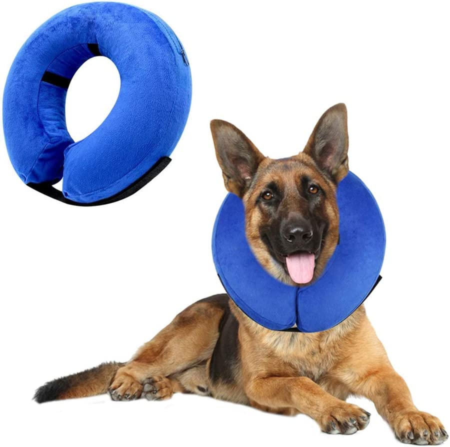 VST Protective Inflatable Soft Dog Cone Collar