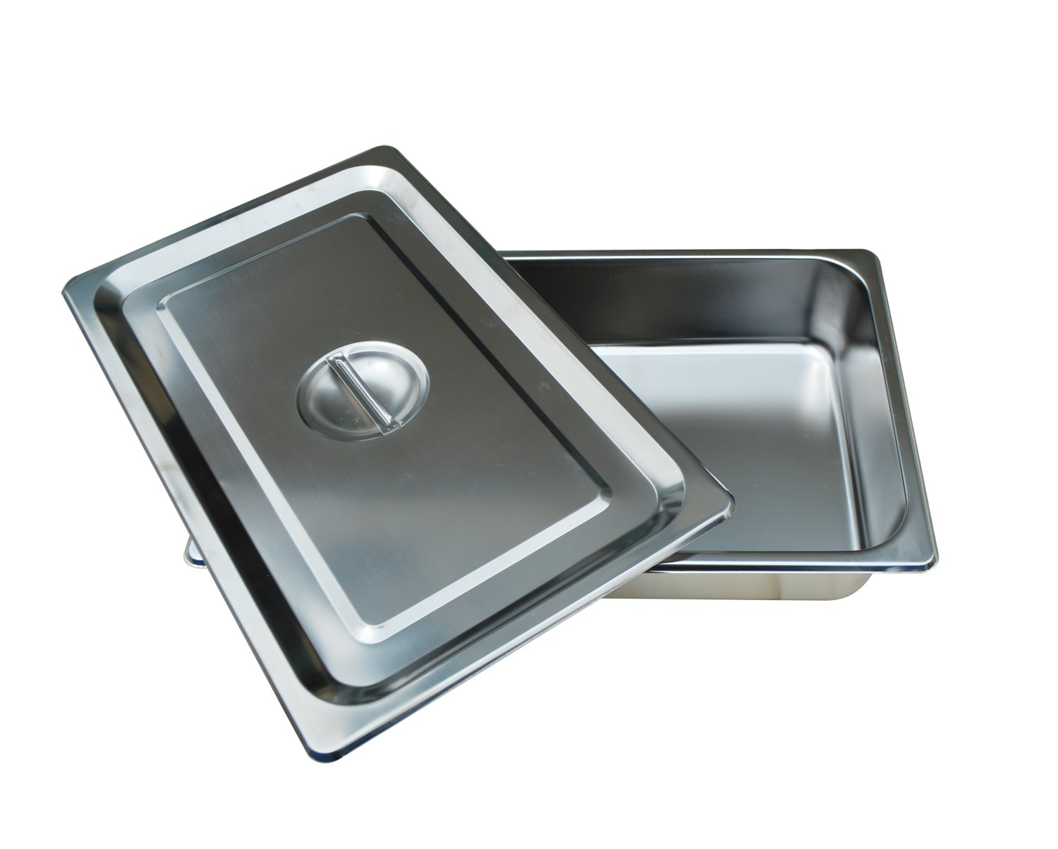 Full Size Pan Stainless Steel 4 Iinches Deep Lid included