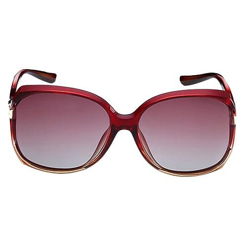 Retro Moda El Lujo La Sra Gafas De Sol Polarizadas