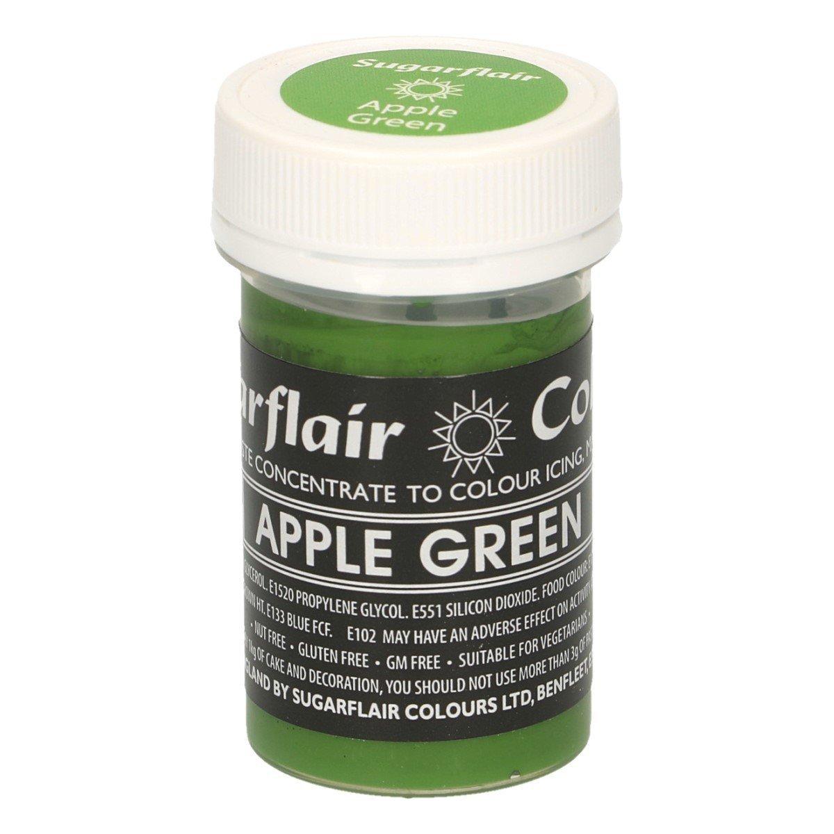 Sugarflair Paste Colour Pastel Apple Green 25g
