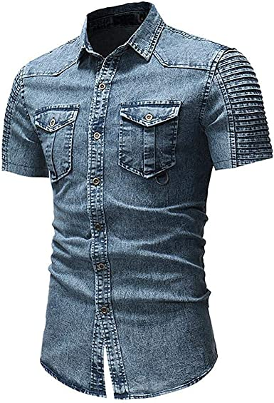 Camisa De Manga Corta para Hombre Camisa para Hombre Camisa ...