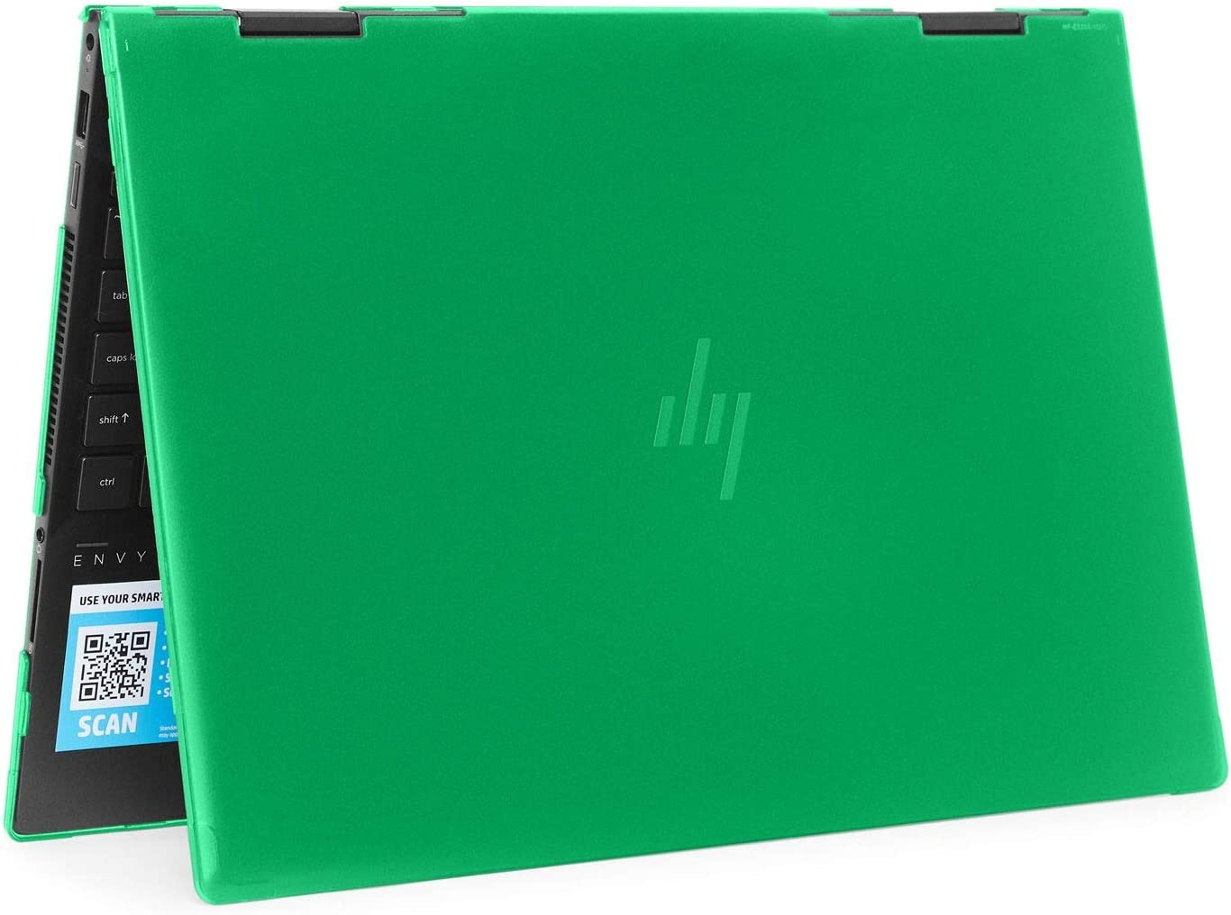 """mCover Hard Shell Case for 2020 15.6"""" HP Envy x360 15-EExxxx (AMD CPU) / 15-ED (Intel CPU) Series Laptop (NOT Compatible with Envy x360 15-AQ/BP/DS/DR Series & Other Models) – x360-15-EE-ED (Green)"""