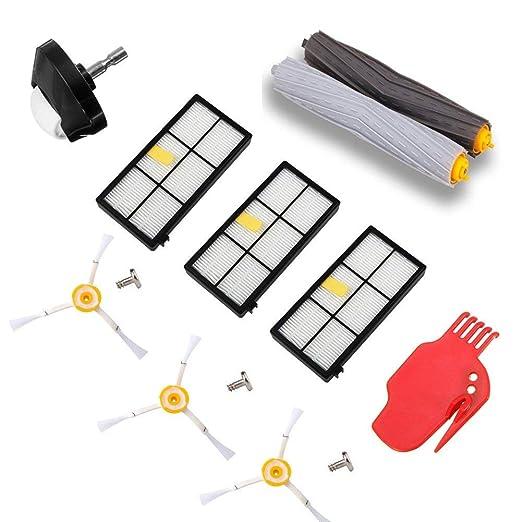 Cikuso Accesorio para Roomba 800 900 Serie Robot Aspiradora Kit De ...