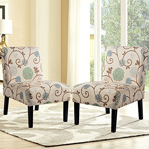 Amazon Com Harper Amp Bright Designs Upholstered Accent Chair