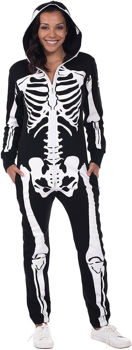 Amazon.com: Tipsy Elves - Disfraz de esqueleto de Halloween ...