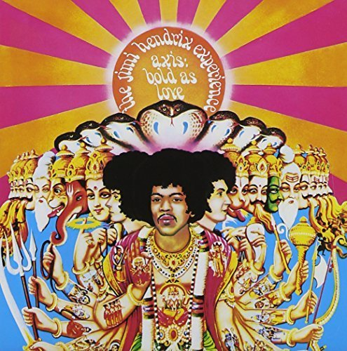 Axis: Bold As Love by The Jimi Experience Hendrix (2013-10-22)