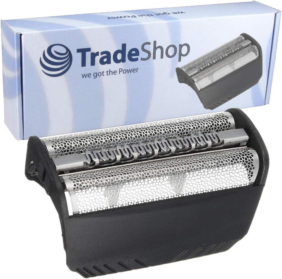 Repuesto de doble hoja de afeitar de repuesto con marco para Braun ...