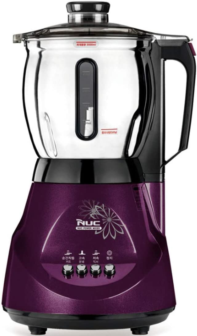 NUC NFM-3615S 3.5 L Large Capacity Stainless Blender 220V 16,000RPM Multifunctional Grinder Low Speed Mixer High-speed Grinding Cutting Instantaneous-Operation