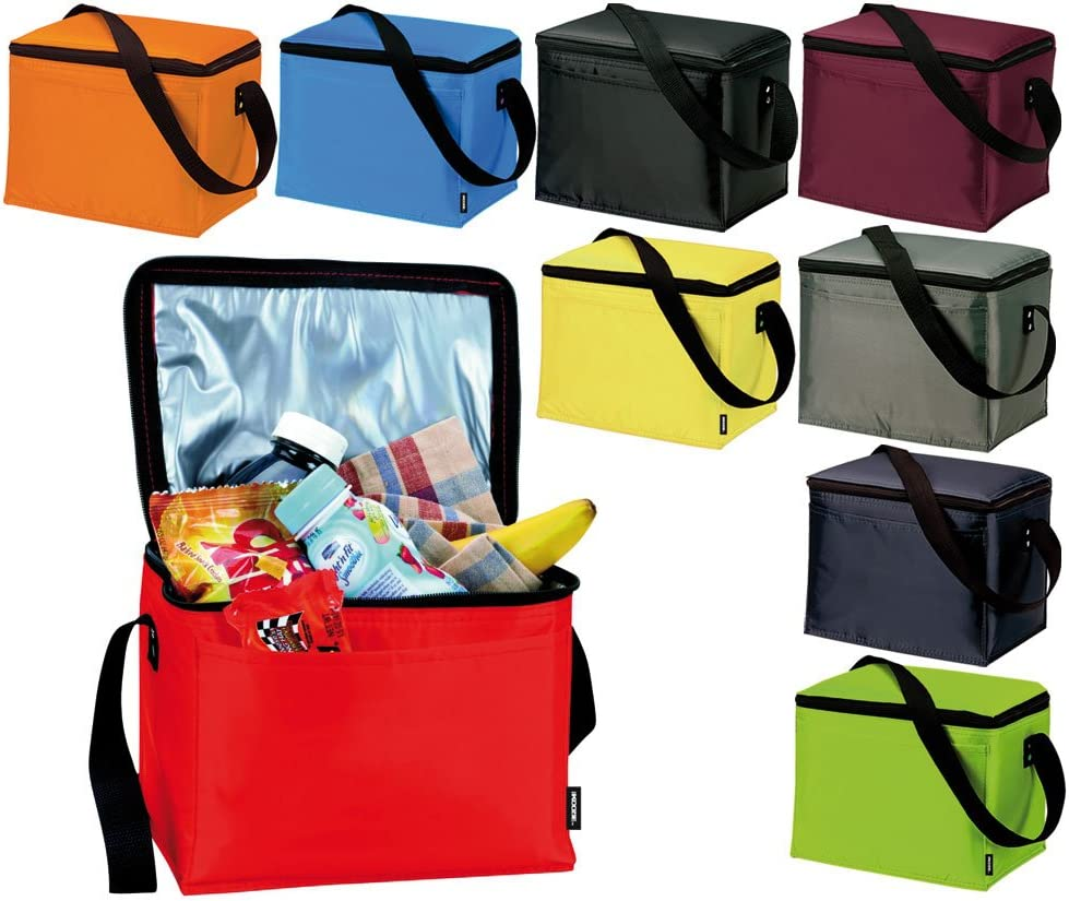 Ebuygb Lunch Time Insulated Cool Bag Blu Reale Poliestere