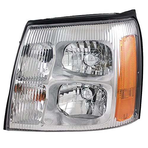 Drivers HID Headlight Headlamp Lens Replacement for Cadillac SUV Pickup Truck 19208222
