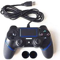 PS4 Denetleyicisi için Playstation Dualshock 4 Joystick Için Kablolu Gamepad Gamepad Çoklu Titreşim 1.8 M Kablo Için PS4 Konsol