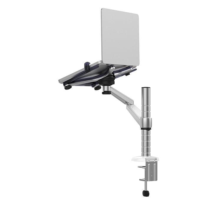 8 opinioni per Regolabile Alluminio Universale laptop portatili e Monitor supporto da tavolo
