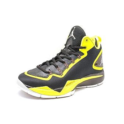 Nike Jordan Super Fly 2 Men's Basketball Shoes  RegularWidth Color Black/Yellow