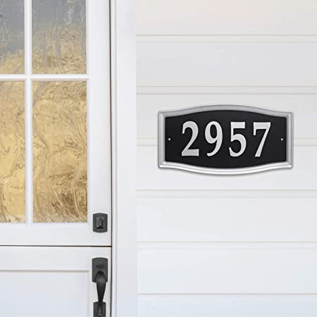 House Number 13 Plaque Home Number Outdoor Address Sign No 13