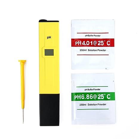 SAVFY® PH Testeur Électronique Digital Hydroponique Poche Pen PH Pour  Aquarium Piscine: Amazon.fr: High Tech