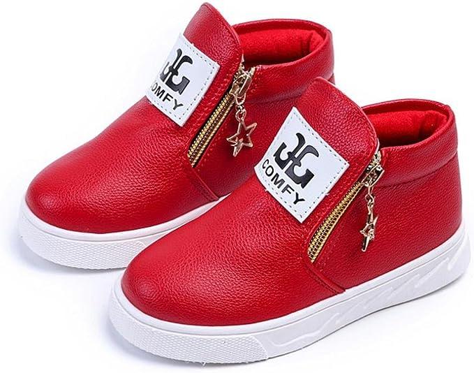 Amazon.com: Moonker Zapatos de bebé para 1 – 5 años de edad ...