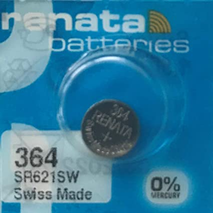 Renata Uhrenbatterie Sp 364 Sr621sw Sp1 Elektronik