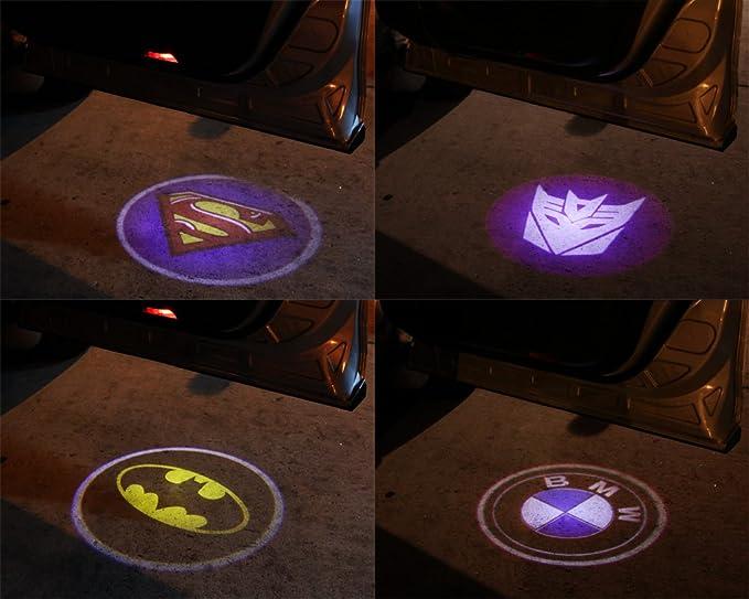 Fantasma sombra proyector láser Logo CREE LED paso puerta cortesía ...