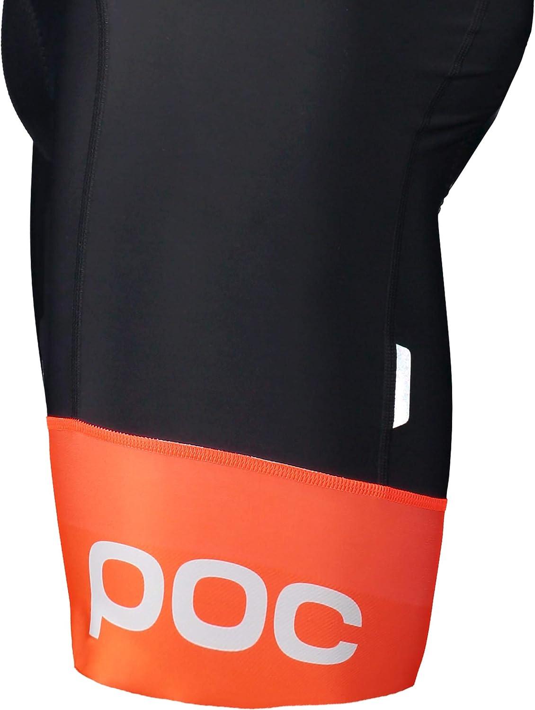 POC Essential Road VPDs Kurze Tr/ägerhose Herren Uranium Black//hydrogen White 2020 Bib Shorts