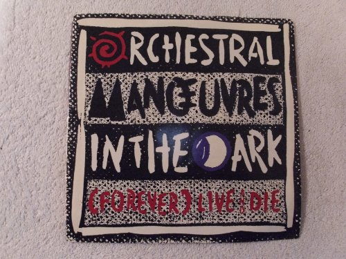 Orchestral Manoeuvres In The Dark This Town / Live And Die 45 w/Picture Sleeve (Orchestral Manoeuvres In The Dark Live And Die)