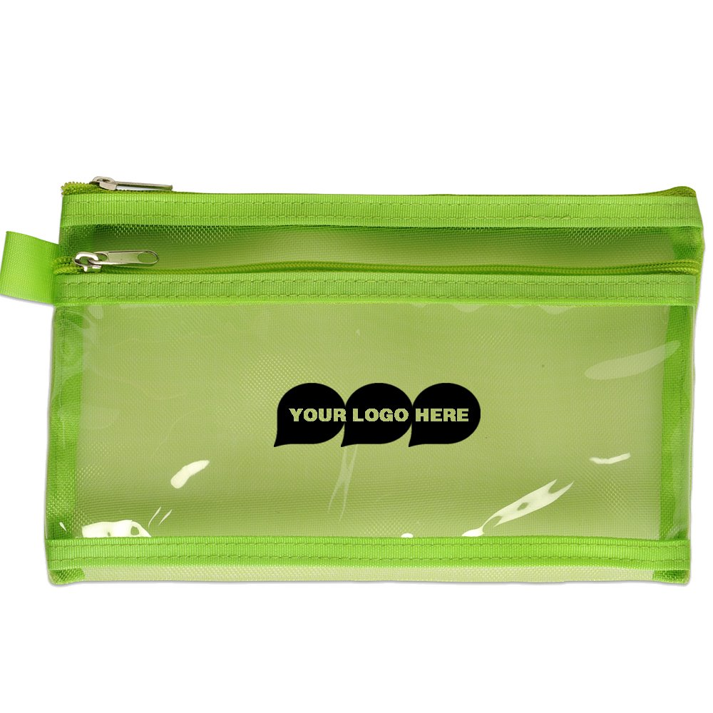 Twin Pocket Supply Pouch - 150 Quantity - $2.25 Each - Promotional Product/Bulk/Branded with Your Logo/Customized