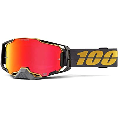 100% Armega Goggle w/HiPER Lens-Falcon5: Automotive