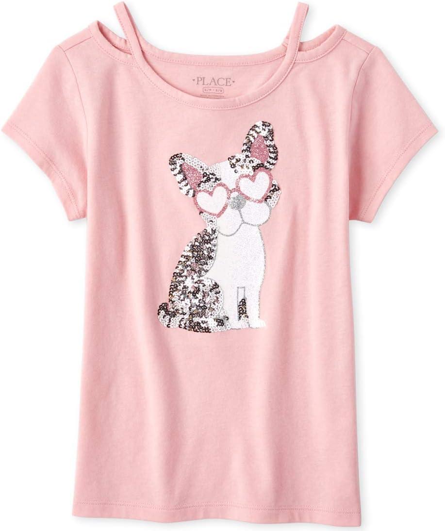 The Children's Place girls Cut out T-Shirt Shirt