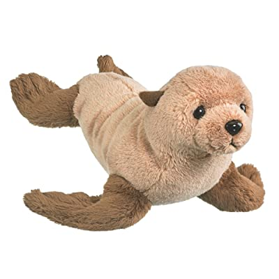"Conservation Critters Wildlife Artists Fur Seal Pup Plush Toys 10"" Stuffed Fur Seal Pup, Kids Stuffed Animals: Toys & Games"