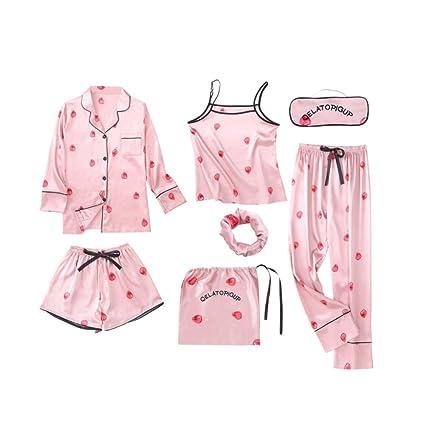 Pijamas De Pijamas Para Pijamas De Chicas Adolescentes Para Mujeres Pijamas De Seda De Hielo De