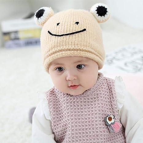 Amazon.com  Myzixuan Baby hat Autumn Winter Ear Wool hat 6 Months-3 ... dd4287a2a76