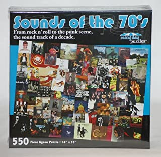 product image for Channel Craft Sounds of The 70's Jigsaw Puzzle