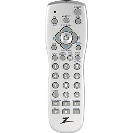 amazon com amertac zenith zp305m zp305m 3 device universal remote rh amazon com Zenith Remote Programming Zenith Remote Programming