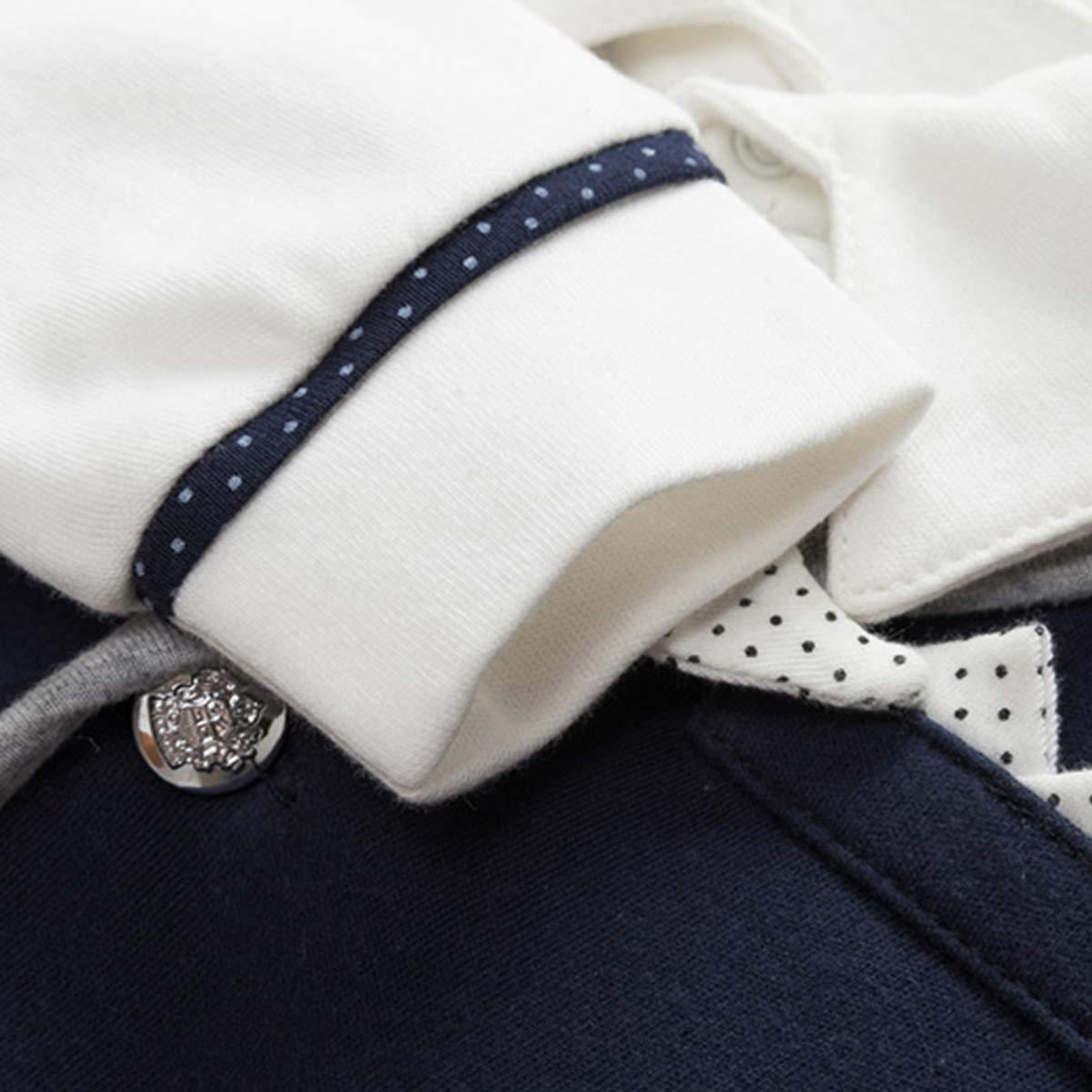 famuka Baby Junge Smoking Neugeborenen Anzug Taufe Hochzeit Babykleidung