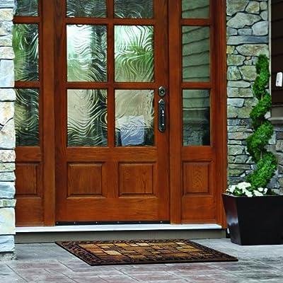 Apache Mills 60-732-1449-18x30 Masterpiece Aberdeen Welcome Door Mat, 18-Inch by 30-Inch