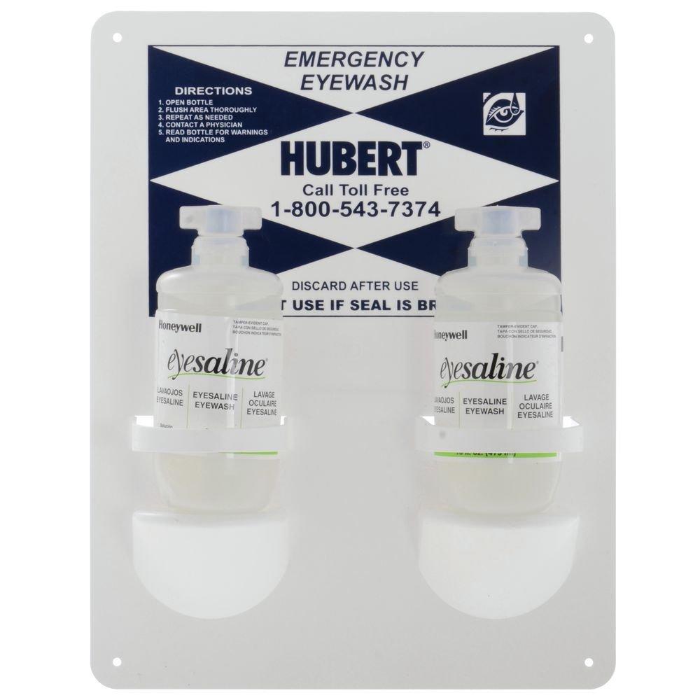 Hubert Emergency Eye-Wash Station, (2) 16 oz Bottles