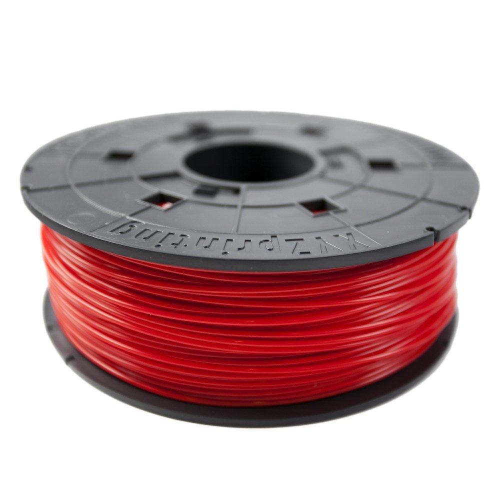 XYZprinting Filamento Recambio ABS, 600 gr, 12 Piezas, Rojo