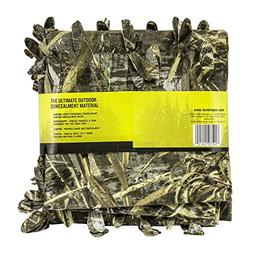 Review Hunter's Specialties Camo Leaf Blind Material, Realtree Advantage Max-5