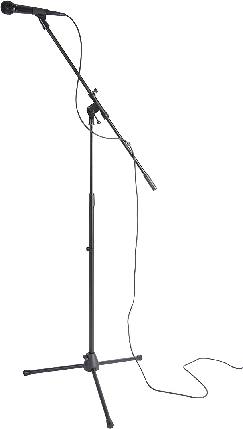 Microphone Stand Detachable Metal Handle Bracket Desk Microphone Stand BV