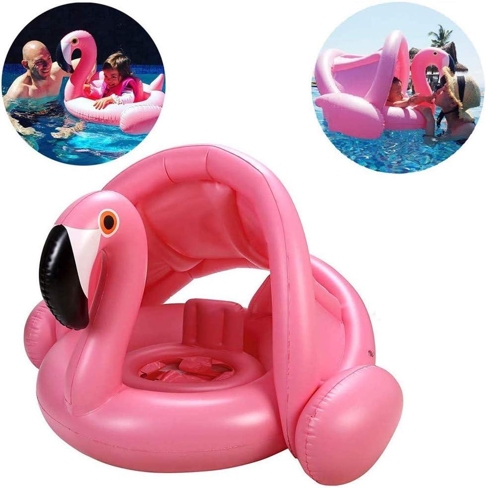 Z@SS Barco Flotador de natación para niños Flamenco Inflable ...