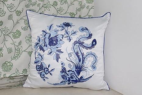 YJ oso bordado de seda de imitación clásica porcelana diseño ...