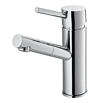 VIGO Noma Single Lever Basin Bathroom Faucet, Chrome