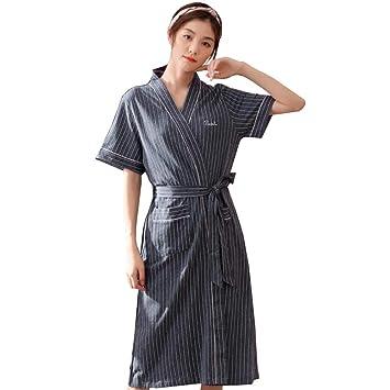 tecnologia avanzata stile squisito moda di lusso Bathrobe Robe, Vestaglia Estiva Accappatoio A Maniche Corte ...
